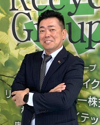株式会社リサイクル 株式会社ダイテック 代表取締役社長 大天 政輝